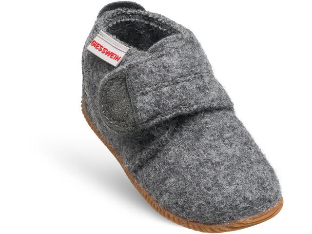 Giesswein Oberstaufen Zapatillas de Casa Niños, gris